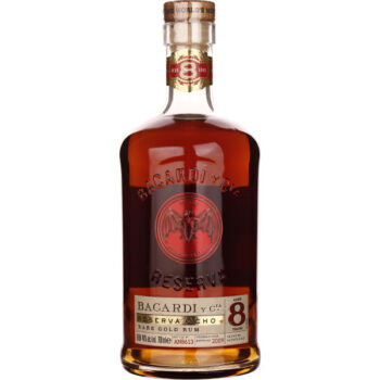 Bacardi 8 years Reserva Ocho 70CL Drankdozijn.be