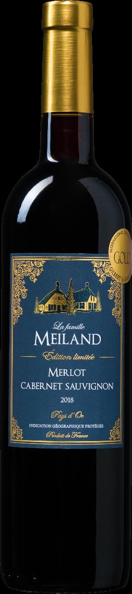 La famille Meiland Édition limitée Merlot-Cabernet Sauvignon Pays d'Oc IGP (1 fles) Wijnvoordeel.be