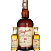 Glenfarclas Tasting Pack 15 & 21 & 25 years Giftset 80CL Drankdozijn.be